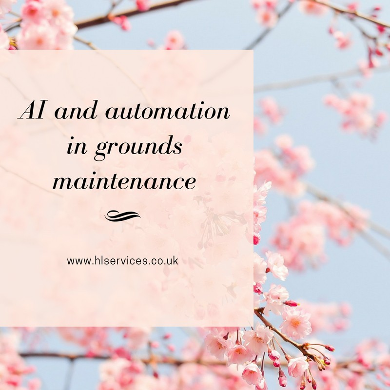 AI and automation in grounds maintenance