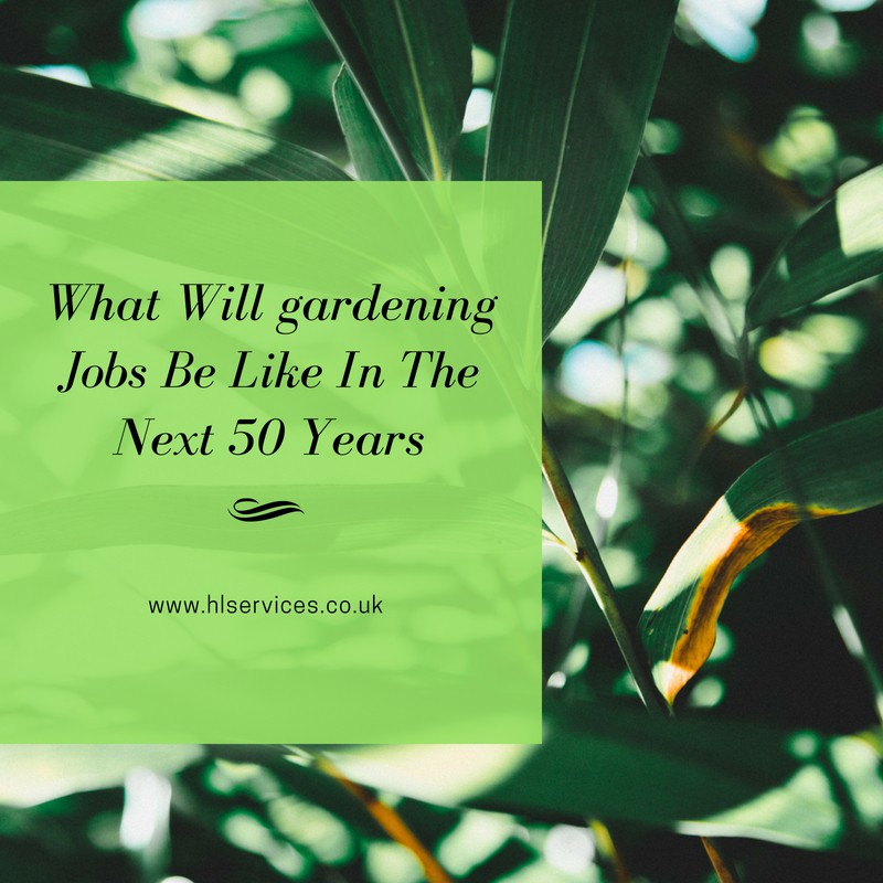 What Will gardening Jobs Be Like In The Next 50 Years