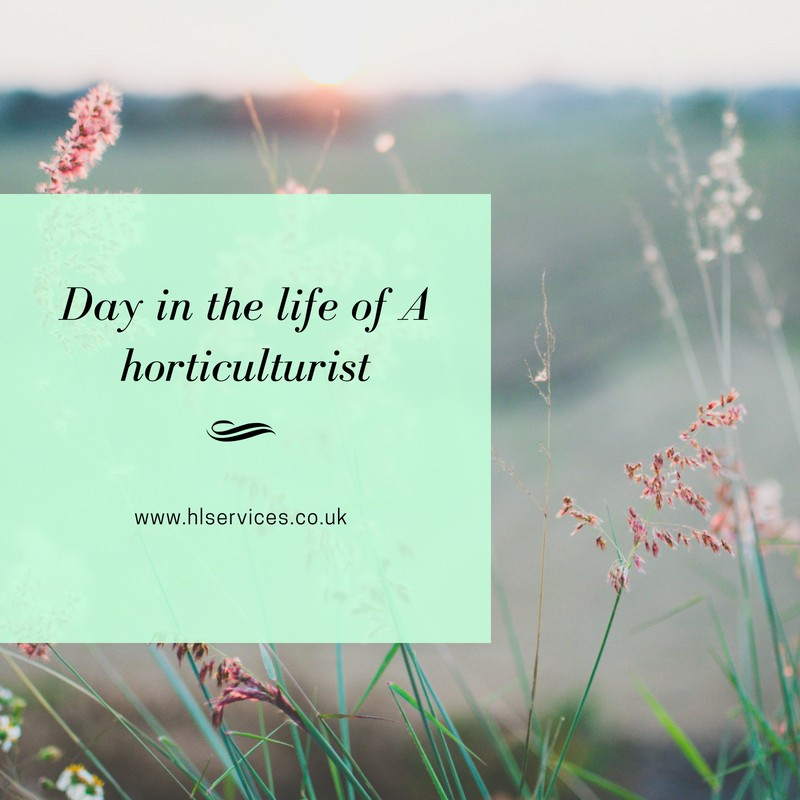 day in the life of a horticulturist banner