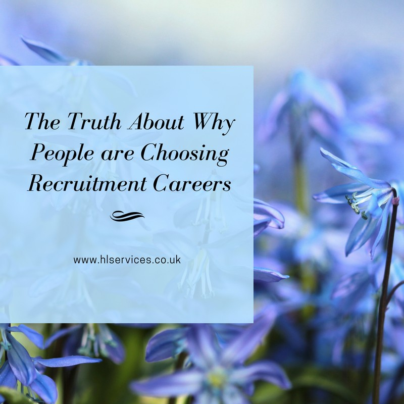 the truth about why people ar echoosing recruitment careers banner