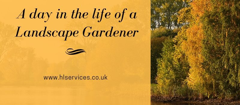 A day in the life of a landscape gardener banner