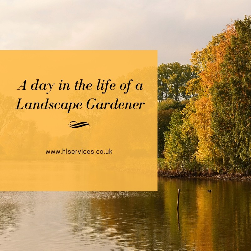 A day in the life of a Landscape Gardener