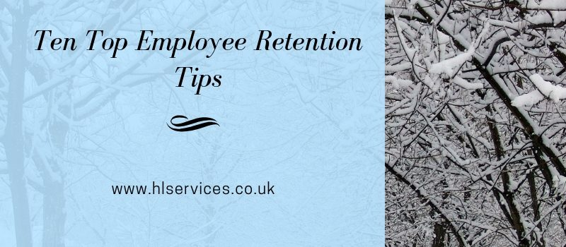 ten top employee retention tips banner