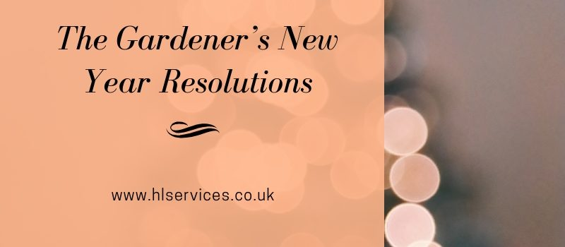the gardener's new year resolutions banner