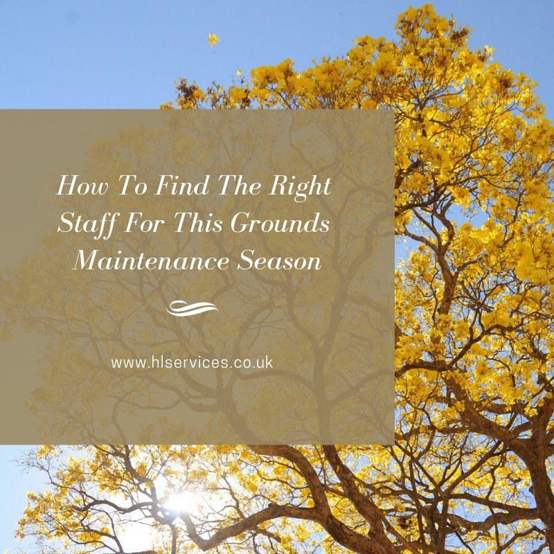 How To Find The Right Staff For This Grounds Maintenance Season