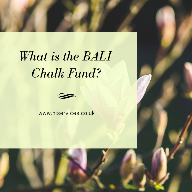 what is the BALI Chalk Fund banner