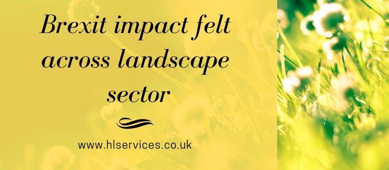 brexit impact felt across landscape sector banner